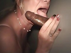 Blowjob, Cumshot, Interracial