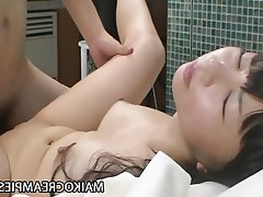Asian, Babe, Close Up, Creampie