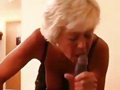 Blonde, Granny, Interracial, Mature