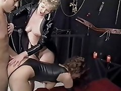 BDSM, Femdom, German, Group Sex