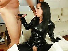 Porn ebony spandex